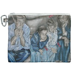 The Nobodies Canvas Cosmetic Bag (xxl) by redmaidenart