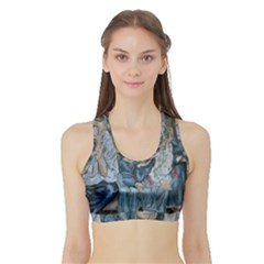 The Nobodies Sports Bra With Border