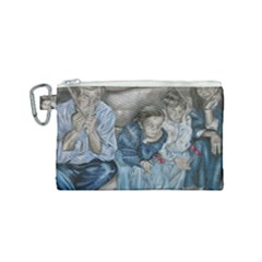 The Nobodies Canvas Cosmetic Bag (small) by redmaidenart
