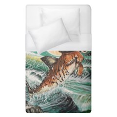 Tiger Shark Duvet Cover (single Size)