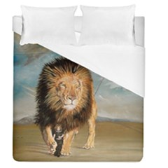 The Journey Duvet Cover (queen Size) by redmaidenart
