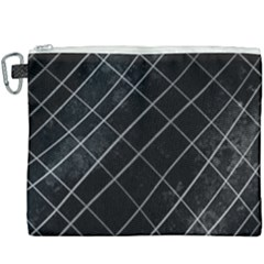 Black Scratch Canvas Cosmetic Bag (xxxl) by quinncafe82