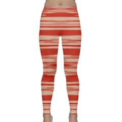 Abstract Linear Minimal Pattern Classic Yoga Leggings by dflcprints