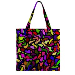 P 853 Zipper Grocery Tote Bag by ArtworkByPatrick