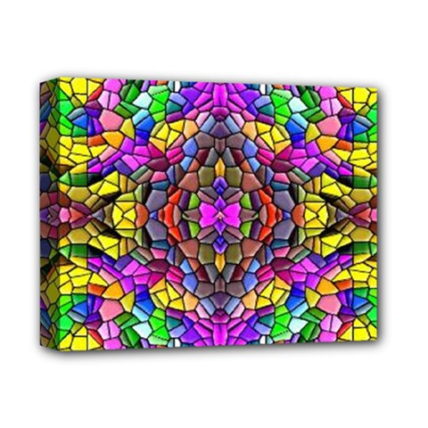 Pattern 807 Deluxe Canvas 14  X 11  by ArtworkByPatrick