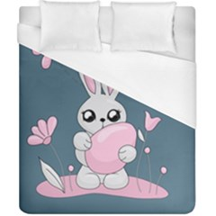 Easter Bunny  Duvet Cover (california King Size)