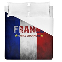 Football World Cup Duvet Cover (queen Size) by Valentinaart