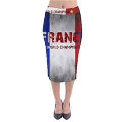 Football World Cup Midi Pencil Skirt by Valentinaart