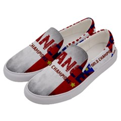 Football World Cup Men s Canvas Slip Ons by Valentinaart