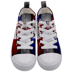 Football World Cup Kid s Mid Top Canvas Sneakers