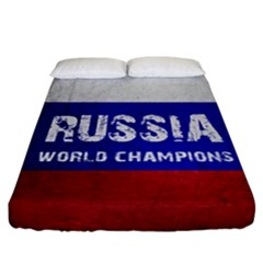 Football World Cup Fitted Sheet (california King Size)