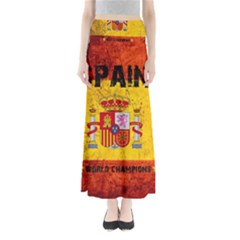 Football World Cup Full Length Maxi Skirt