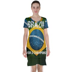 Football World Cup Short Sleeve Nightdress