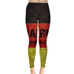 Football World Cup Leggings  by Valentinaart
