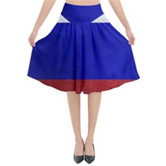Football World Cup Flared Midi Skirt by Valentinaart