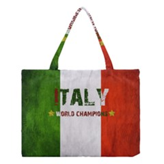 Football World Cup Medium Tote Bag by Valentinaart