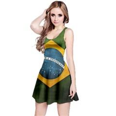 7b7b624787d8 Football World Cup Reversible Sleeveless Dress by Valentinaart