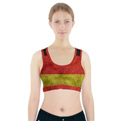 Football World Cup Sports Bra With Pocket by Valentinaart