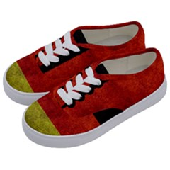 Football World Cup Kids  Classic Low Top Sneakers by Valentinaart