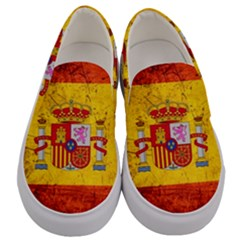 Football World Cup Men s Canvas Slip Ons