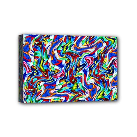 Pattern-10 Mini Canvas 6  X 4