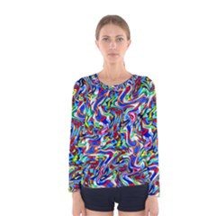Pattern-10 Women s Long Sleeve Tee