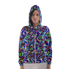 Pattern-10 Hooded Wind Breaker (women)