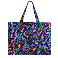 Pattern-10 Zipper Mini Tote Bag