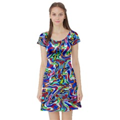 Pattern 10 Short Sleeve Skater Dress