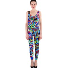 Pattern-10 One Piece Catsuit