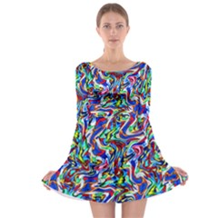 Pattern 10 Long Sleeve Skater Dress