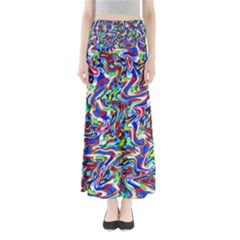 Pattern-10 Full Length Maxi Skirt