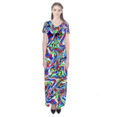Pattern 10 Short Sleeve Maxi Dress