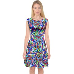 Pattern 10 Capsleeve Midi Dress