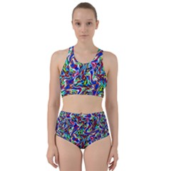 Pattern 10 Racer Back Bikini Set