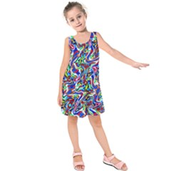 Pattern-10 Kids  Sleeveless Dress
