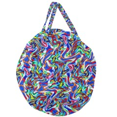 Pattern 10 Giant Round Zipper Tote