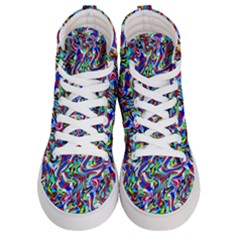 Pattern 10 Women s Hi Top Skate Sneakers