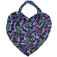 Pattern-10 Giant Heart Shaped Tote