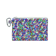 Pattern-10 Canvas Cosmetic Bag (small)