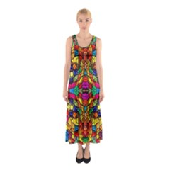P 786 Sleeveless Maxi Dress