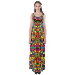 P 786 Empire Waist Maxi Dress