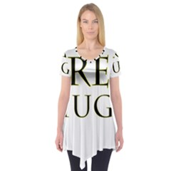 Freehugs Short Sleeve Tunic