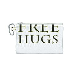 Freehugs Canvas Cosmetic Bag (small)