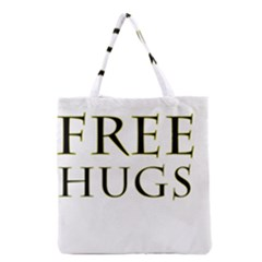 Freehugs Grocery Tote Bag by cypryanus