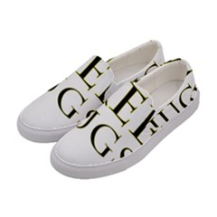 Freehugs Women s Canvas Slip Ons by cypryanus