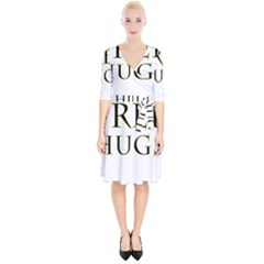 Freehugs Wrap Up Cocktail Dress