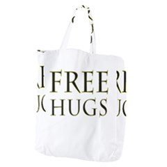Freehugs Giant Grocery Zipper Tote by cypryanus