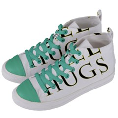 Freehugs Women s Mid Top Canvas Sneakers by cypryanus