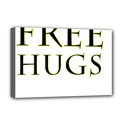 Freehugs Deluxe Canvas 18  X 12